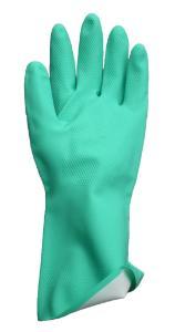 Chemical resistant gloves, nitrile, flocklined, VWR®