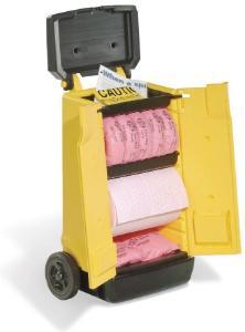 Wózek na artykuły od odpadów rozlanych, przenośny, PIG®