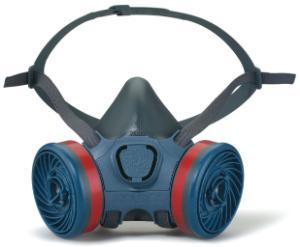 Półmaski chroniące przed gazami, parami i pyłami, seria 7000
