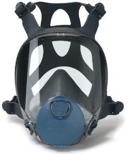Maski pełnotwarzowe przeciwko gazom, oparom i pyłom ; seria 9000